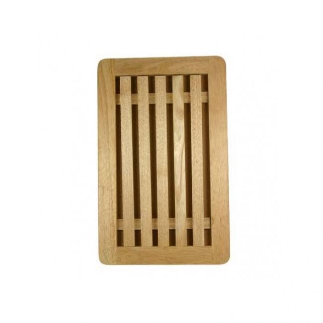 Planche à pain ramasse miettes 38x26cm en bois - Planche à pain - AZ Boutique