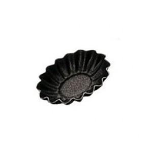 4,5cm x 3,5cm non-stick oval small mold - Paderno