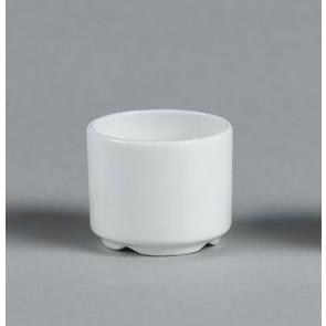 Coquetier Miramar blanc