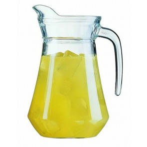 Glass carafe 130cl - Singly sold
