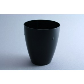 Black polycarbonate goblet 45cl – Sold by 6