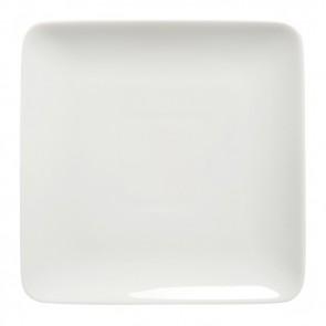 "Square dessert plate 8"" / 20cm white - Modulo - Guy Degrenne"
