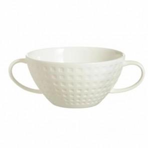 "Round flat plate white 11"" / 28cm - Spazio - Spal"