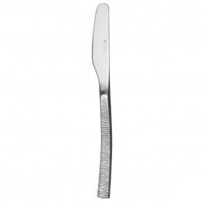 Couteau à beurre monobloc lame uni  en inox 18/10 de 3,5mm - Astrée Ciselé - Guy Degrenne