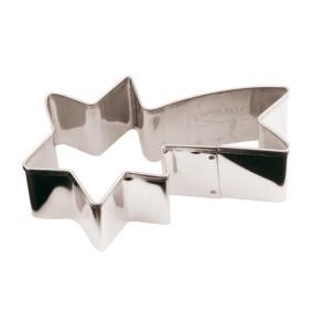 Découpoir étoile filante en inox 18/10 - Emporte-pièces - Paderno
