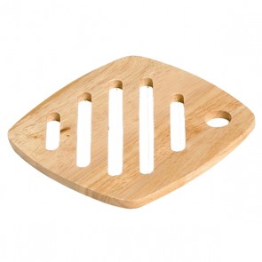 Plate mat square in wood 18cm x 18cm - Bois - Cosy & Trendy