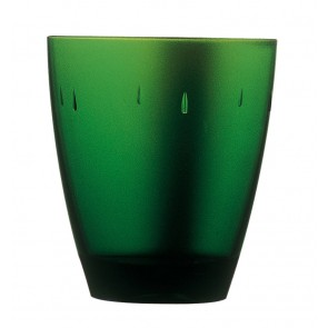 Emerald green polycarbonate goblet 33cl – Sold by 6