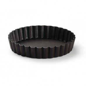 5cm non-stick fluted plain mold - Paderno