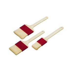 Pinceau pâtissier - 4cm - Fibres naturelles - Virole plastique - Paderno