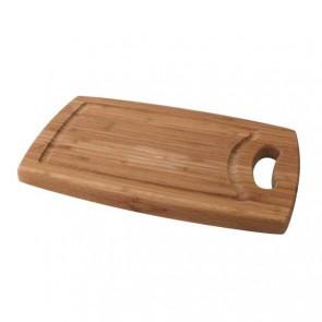 Bamboo cutting board 29cm x 19cm x 1.8cm - Wooden cutting board - Cosy & Trendy