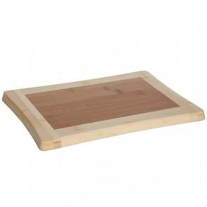 Bamboo wooden cutting board 33cm x 23cm x 1.8cm - Wooden cutting board - Cosy & Trendy