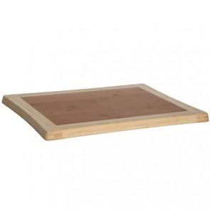 Bamboo wooden cutting board 39cm x 30cm x 1.8cm - Wooden cutting board - Cosy & Trendy
