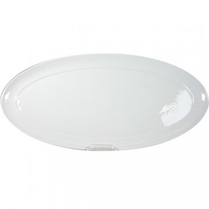 "Oval catering dish 16x8"" / 40.8x20cm white - Resto - Cosy & Trendy"