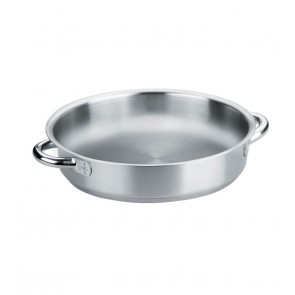 Poêle à paella induction en inox 18/10 - Ø 24 cm - Eco Chef - Lacor