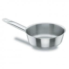 Sauteuse conique en inox 18/10 - Ø 24 cm - Chef Classic - Lacor