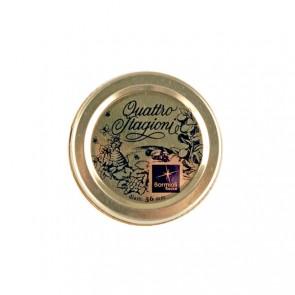 56mm lids for 15cl canning jars - Set of 3 - Quattro Stagioni - Bormioli Rocco