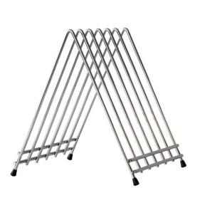Support en inox pour 6 planches à découper - Rangement - AZ Boutique