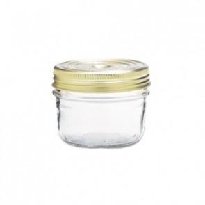 Square clear canning jar 50cl - Fido - Bormioli Rocco