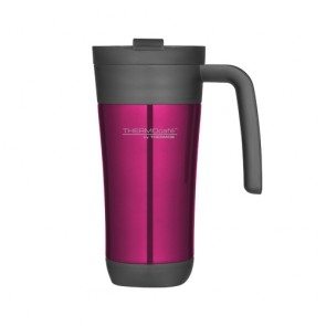 Insulated travel mug 42.5cl / 14oz pink