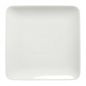 Square dinner plate 24cm white - Modulo - Guy Degrenne