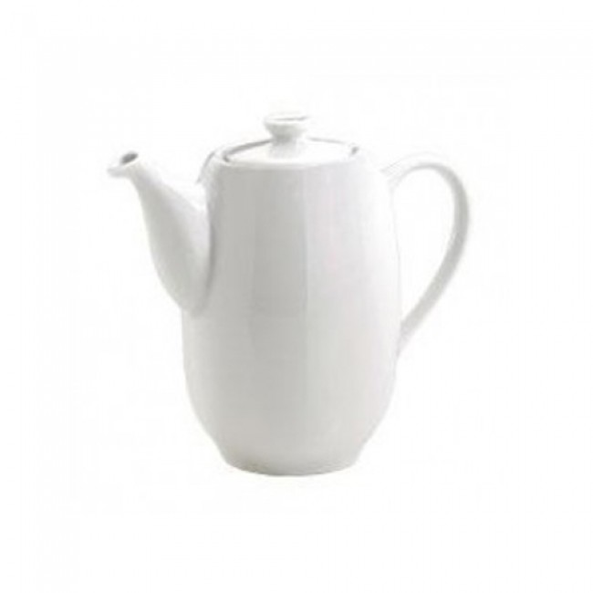 Porcelain coffee pot 12oz / 35cl white - Sancerre - Pillivuyt