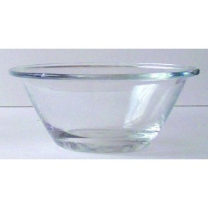"Transparent glass salad bowl 6"" / 14cm - Mister Chef - Bormioli Rocco"