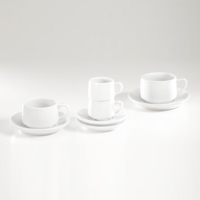 Porcelain breakfast cup 10oz / 30cl white - Paris - Pillivuyt