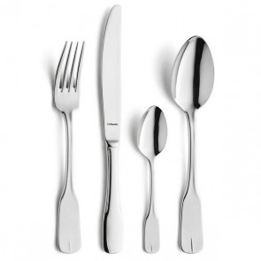 Dessert spoon - 3mm thick 18/0 stainless steel - Sold by 6 - Vieux Paris - Amefa