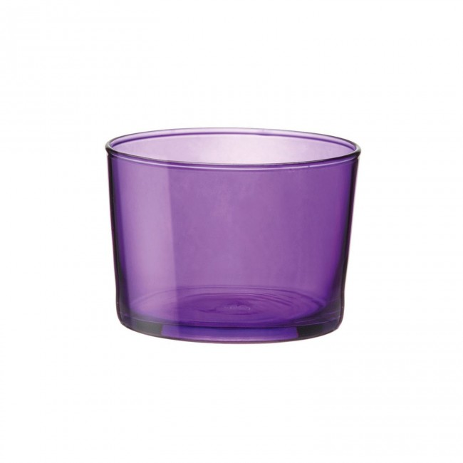 Purple appetizer glass 7 oz / 20 cl - Set of 3