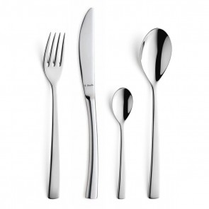 72 piece cutlery set 18/10 stainless steel mirror-finished - Aurora - Amefa