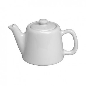 Standard porcelain teapot 2 servings 12oz / 35cl white - Pillivuyt