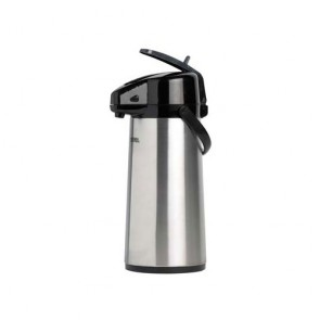 Stainless steel pump pot with lever 68oz / 2.2L