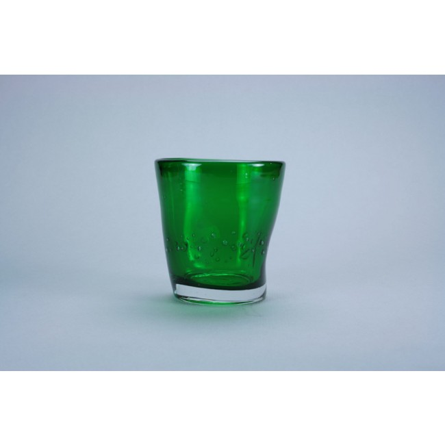 Forest green tumbler goblet 35cl  – Sold by 6