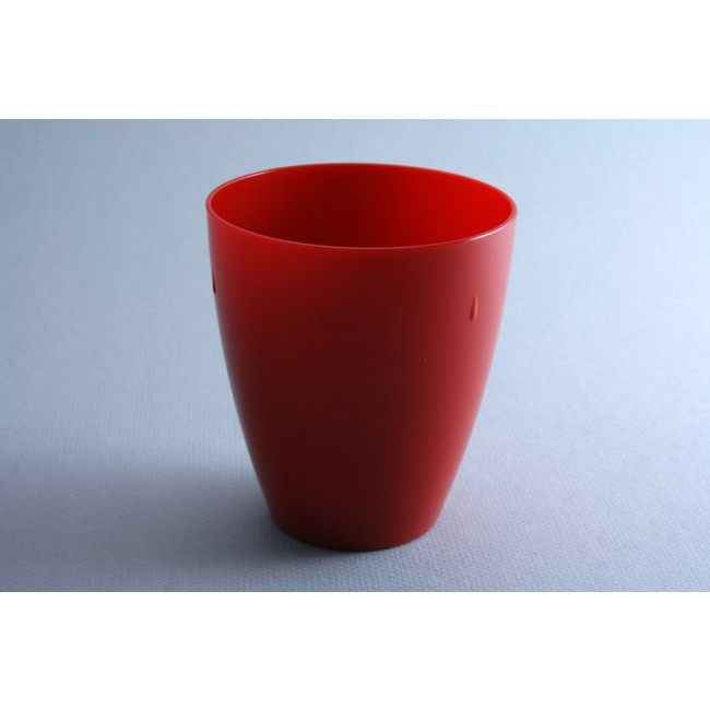 Red polycarbonate goblet 45cl – Sold by 6