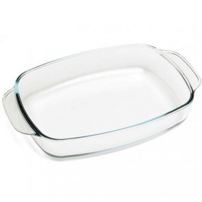 Rectangular glass oven dish 13 x 8.3""