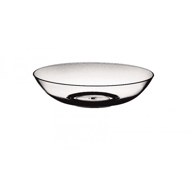 Assiette creuse glace Ø18cm en polycarbonate - Lot de 6