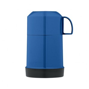 Insulated food flask 22cl / 7oz blue