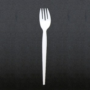 Single use fork in plastic 17.5cm - Sold by 100 - Eco - AZ Boutique