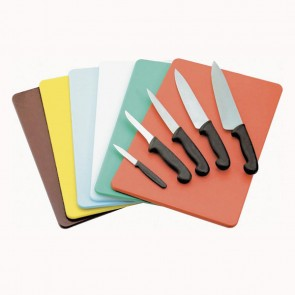Red cutting board 40 x 30 x 1cm in polyethylene - AZ Boutique