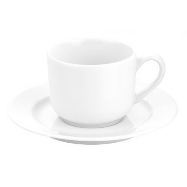 Porcelain breakfast cup 10oz / 30cl white - Sancerre - Pillivuyt
