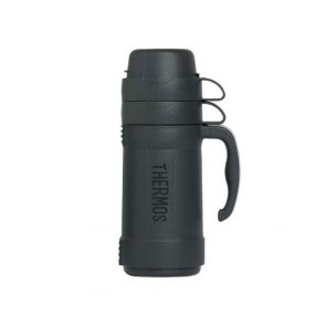Insulated bottle 34oz / 1L grey