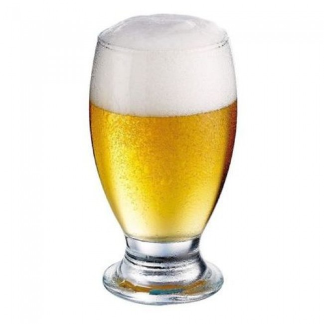 Beer glass - Bock 0.23qt / 22cl - Set of 6 - Brussels - Durobor
