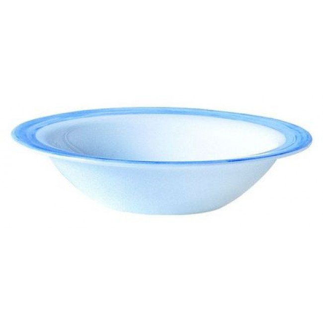 Bowl blue / white 12cm - Singly sold - Arcoroc