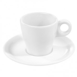 "Porcelain tea saucer 6"" / 15cm white - Bourges - Pillivuyt"