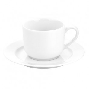 "Porcelain tea saucer 6"" / 15cm white - Sancerre - Pillivuyt"