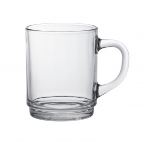 Clear Mug  8.8oz - Sold by 6