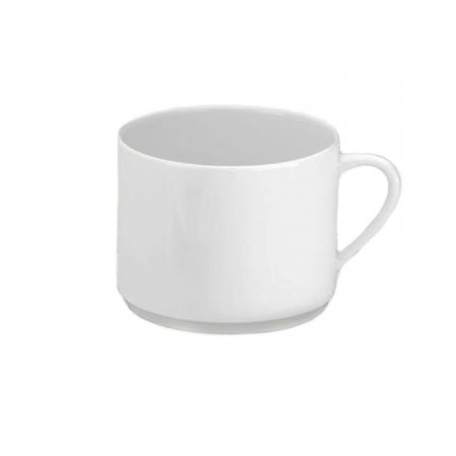 Porcelain breakfast cup 10oz / 30cl white - Valencay - Pillivuyt