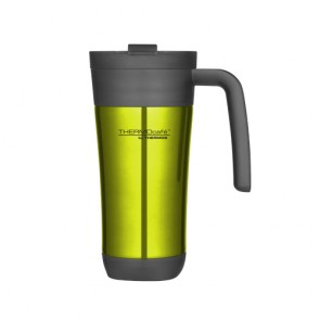 Insulated travel mug 42.5cl / 14oz lime