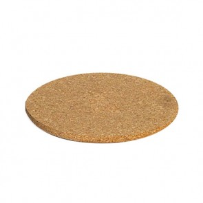Plate mat round in cork diametre 20cm - set of 3 - Liège - Cosy & Trendy