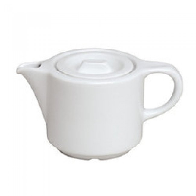 Porcelain teapot 12oz / 35cl white - Europe - Pillivuyt